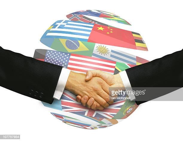 Handshake Globe
