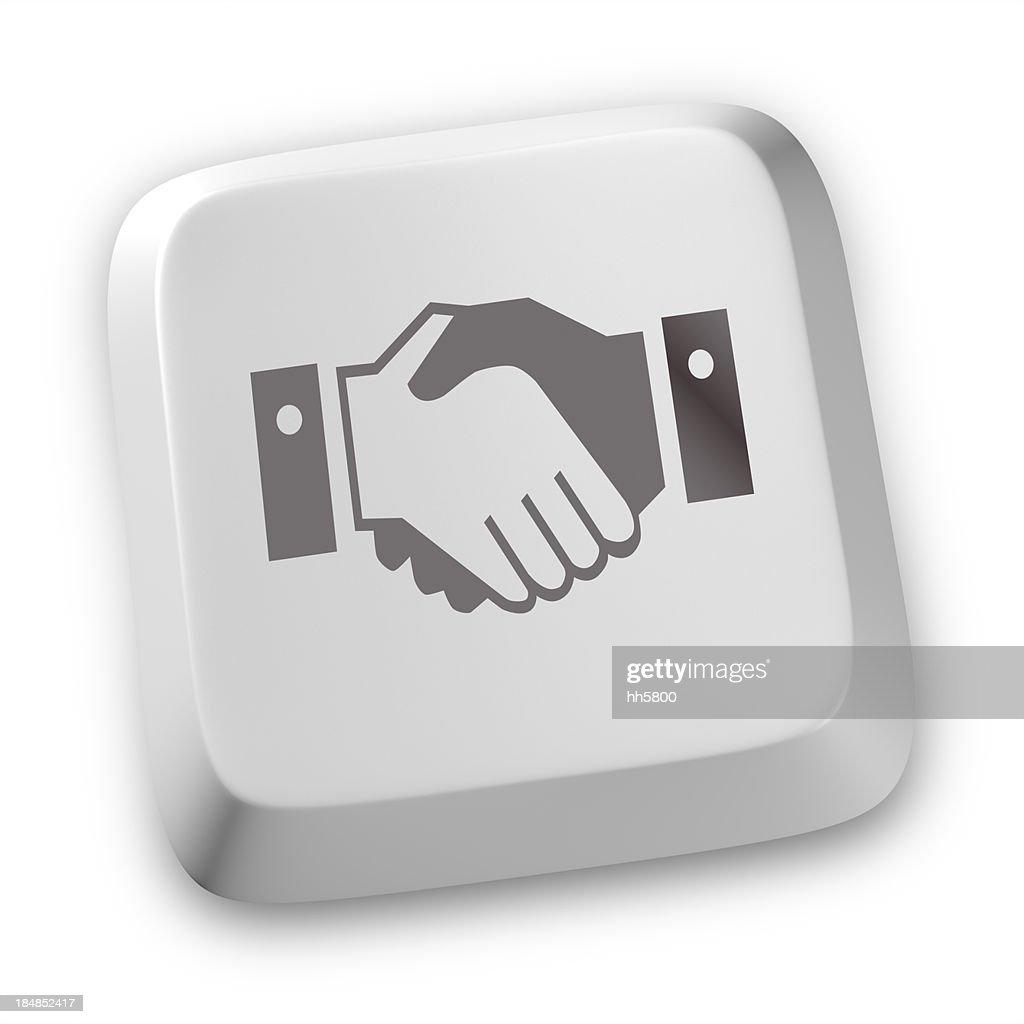 Handshake icons : Stock Photo