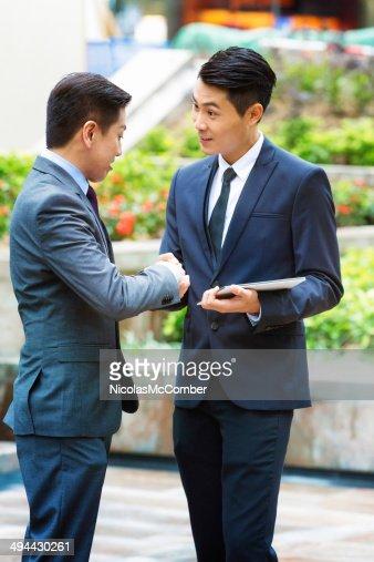 Handshake seals the deal