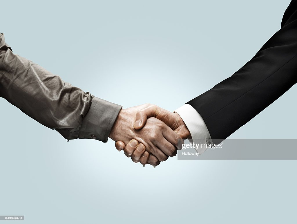 Handshakes : Stock Photo