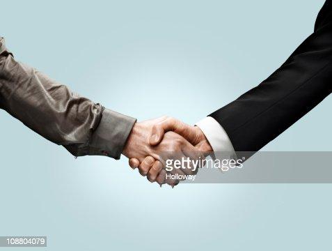 Handshakes : Stock Photo