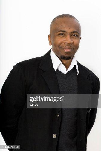 ハンサムなアフリカ系アメリカ人男性