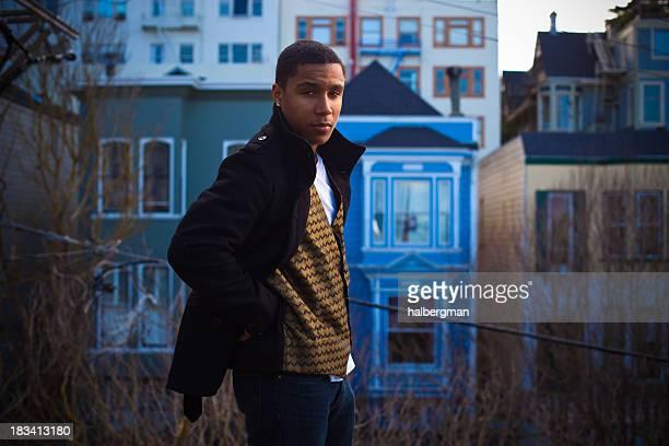 Handsome African-American Twentysomething