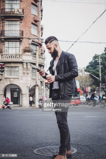 Handsome bearded guy