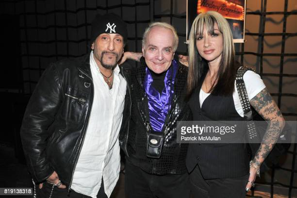 Handsome Dick Manitoba Leee Black Childers and Zoe Hansen attend THE RUNAWAYS A Gallery Event with FLORIA SIGISMONDI to Benefit STAND UP FOR KIDS at...