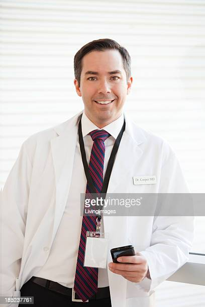 Handsome Doctor with Name Tag