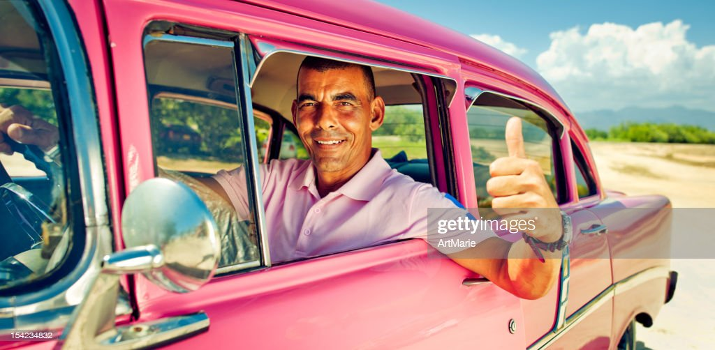 Handsome driver : Stock Photo