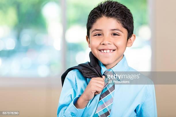 Handsome Hispanic Boy