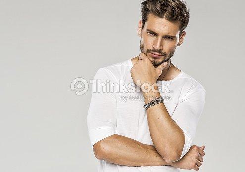 gut aussehender mann
