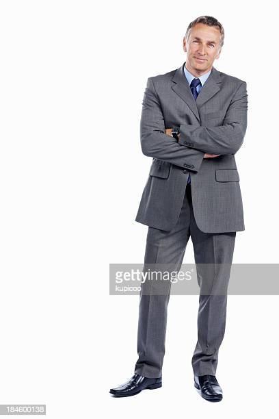 Atractivo negocio maduro hombre