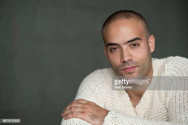 Handsome Middle Eastern Man portrait.