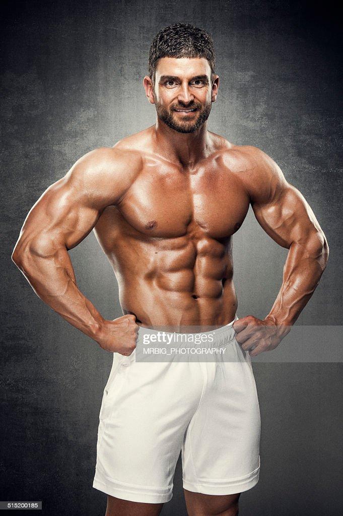 Muscle Man Wallpaper - WallpaperSafari