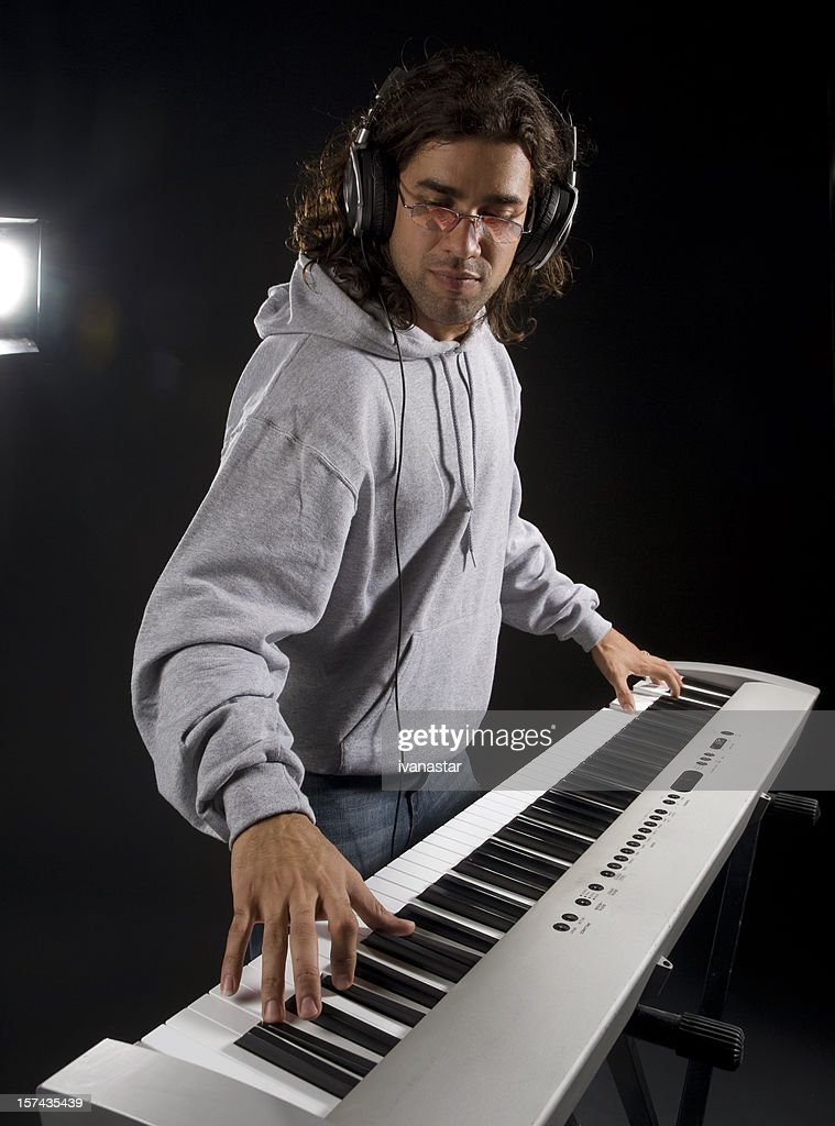 Handsome Man Photo With Piano 16