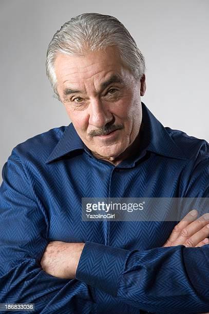 Handsome Senior Man - Skeptical 2