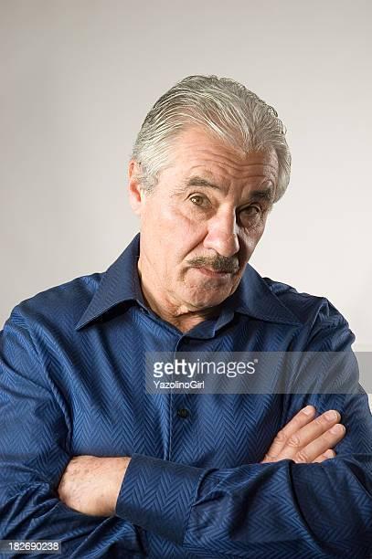 Handsome Senior Man - Skeptical