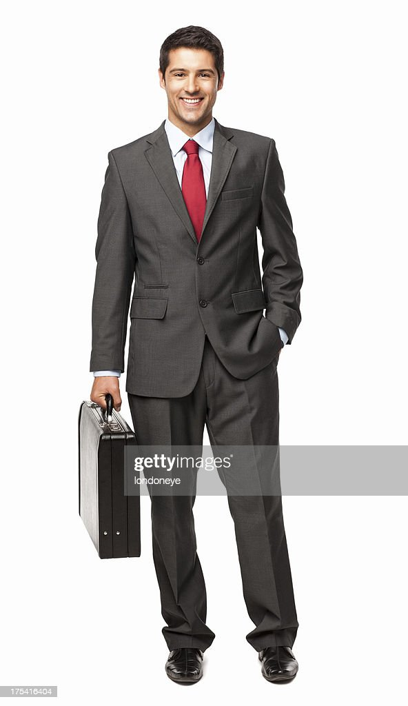 Handsome Young Businessman - Isolated