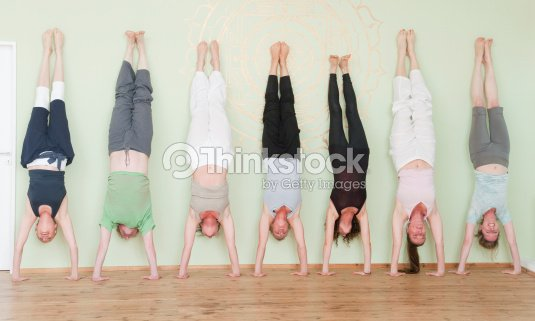 Handstand : Stock Photo