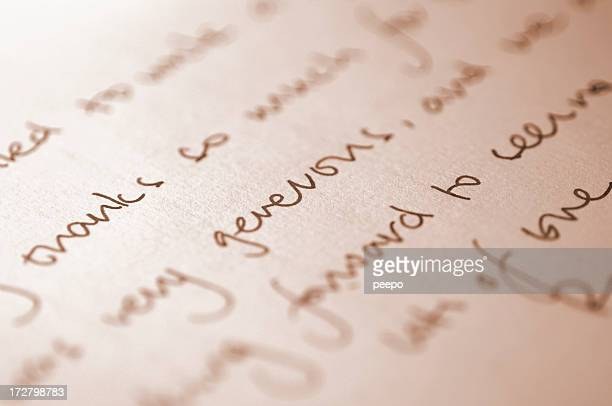 handwriting series