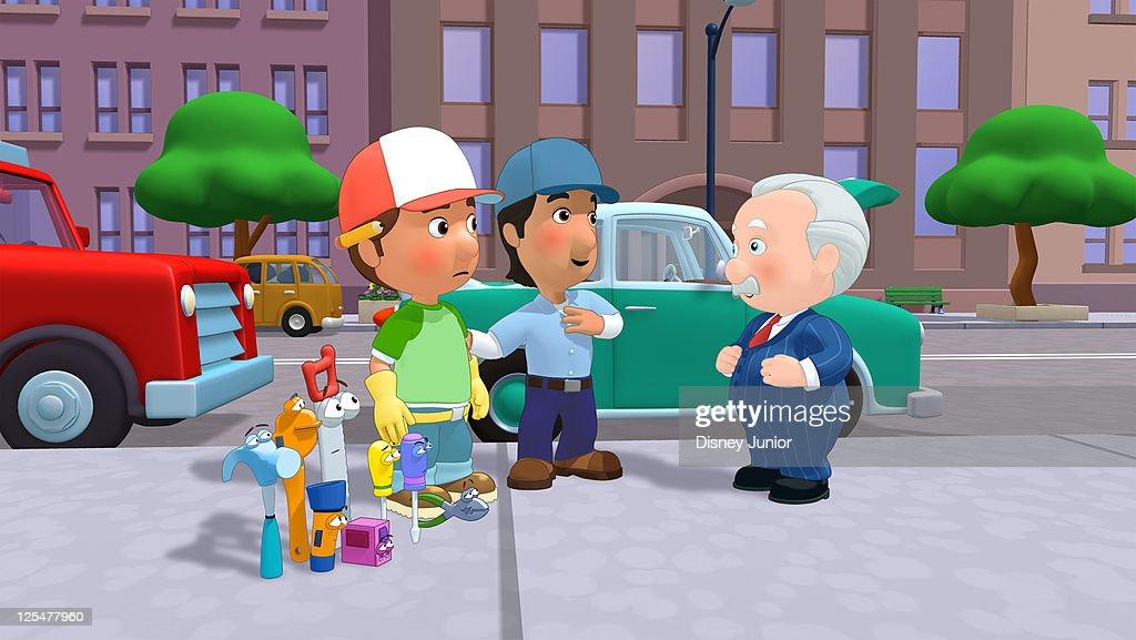 "Mannys Auto Repair >> Disney Channel's ""Handy Manny"" - Season Three | Getty Images"