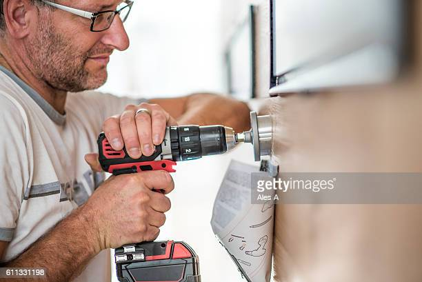 Handyman at work
