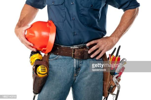 Mann für mit Tool Belt