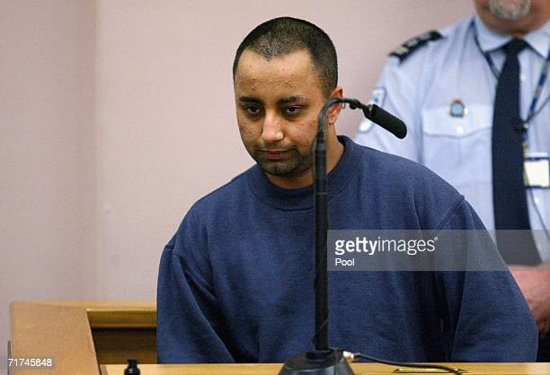 Haneet Sing an inmate who is a witness in the Liam Ashley murder trial appears in the Auckland District Court on August 30 2006 in Auckland New...