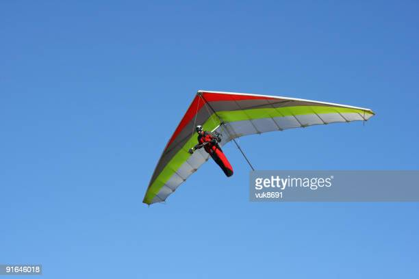 Hangglider in action (Grobnik Kroatien