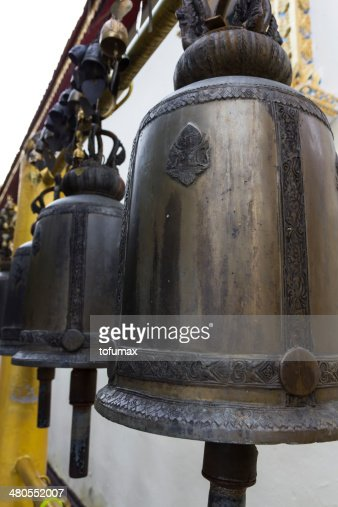 Hanging bell : Stock Photo