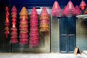 Hanging down Incense  coils in Hong Kong