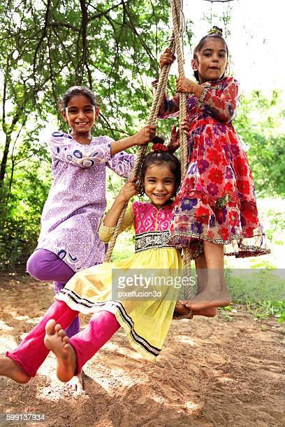 Hanging on Swing !