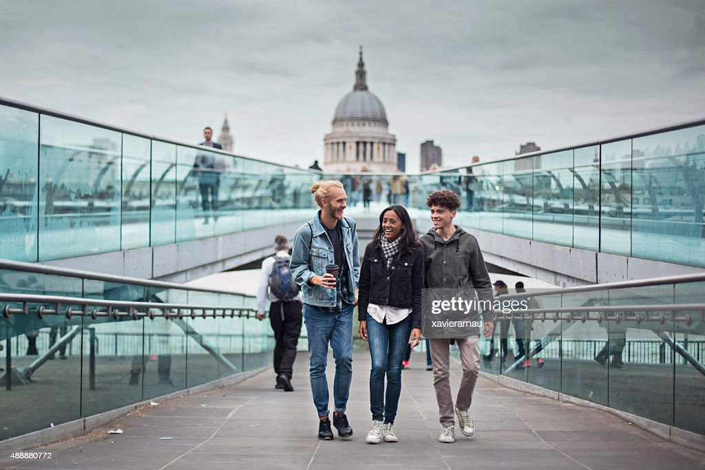 Hanging out around London : Stock Photo