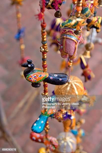 Hanging Peacock Mobile, Souvenir