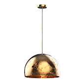 3d rendering hanging pendant lamp isolated on white