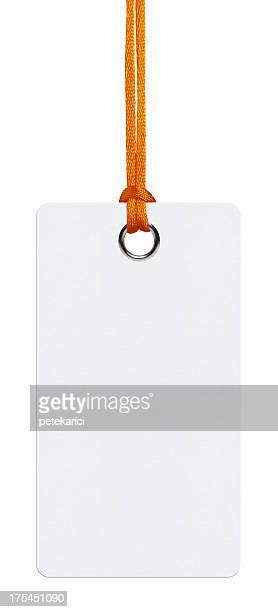 Étiquette suspendue (Tracé de détourage)