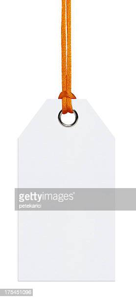 Hanging Tag (Clipping Path (Borde de corte