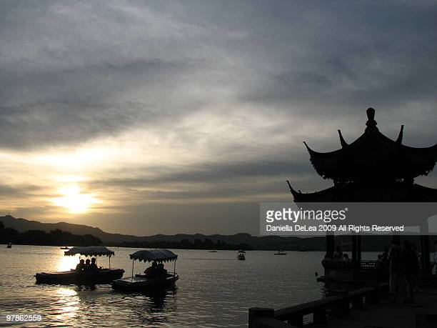 Hangzhou at Sunset