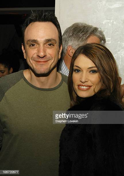 Hank Azaria and Kimberly GuilfoyleNewsome during Showtime Presents the Second Season Premiere of 'The L Word' After Party at Duvet in New York City...