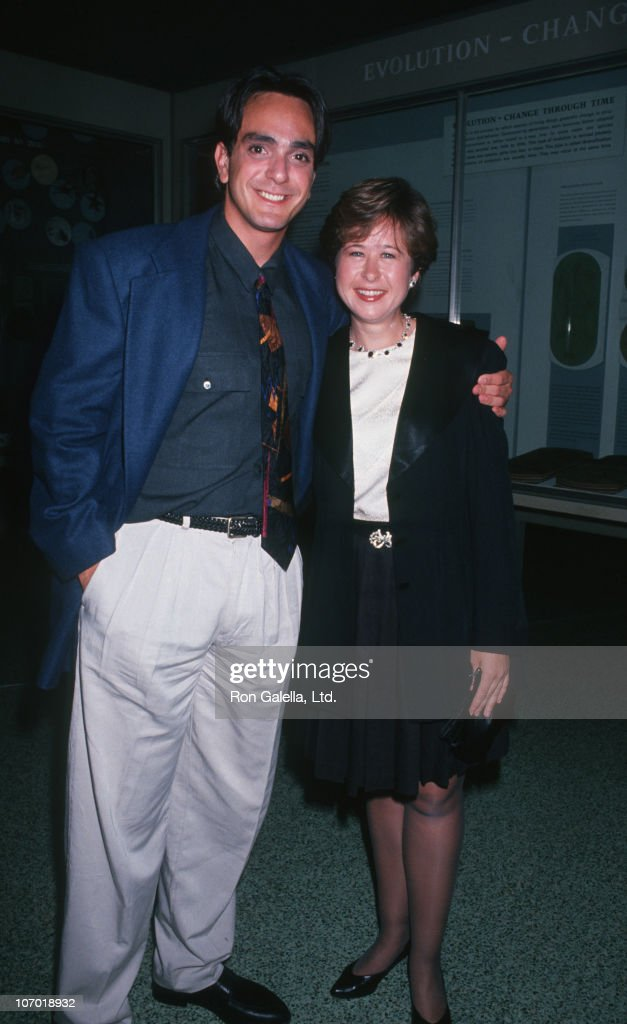 Hank Azaria and Yeardley Smith during Fox Fall Series Party at The Museum of Natural History in New York City May 26 1992 at Museum of Natural...