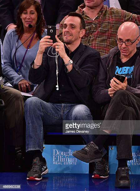 Hank Azaria attends Minnesota Timberwolves vs New York Knicks game at Madison Square Garden on March 19 2015 in New York City