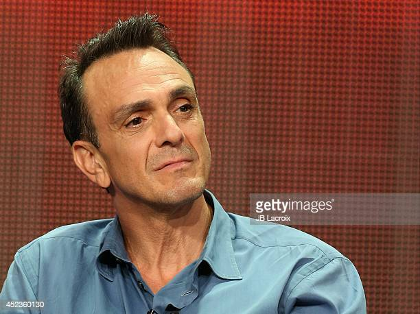 Hank Azaria attends the 2014 Summer Television Critics Association at The Beverly Hilton Hotel on July 18 2014 in Beverly Hills California