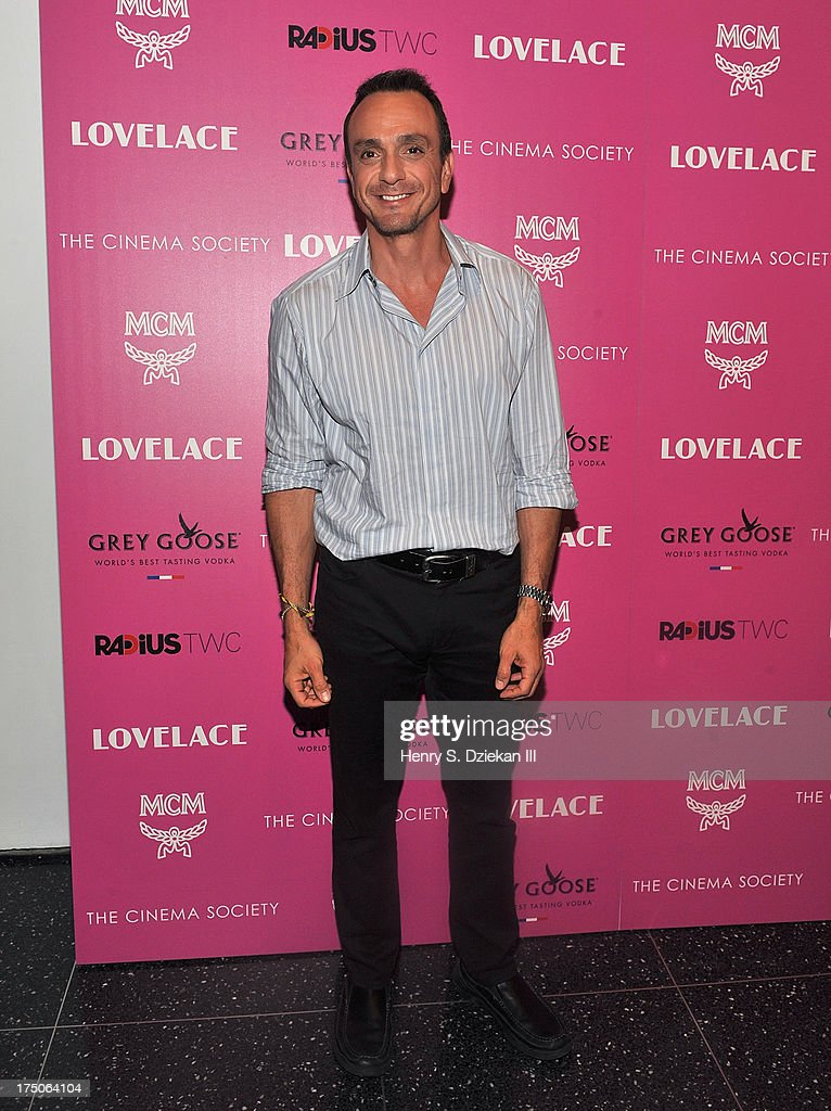 Hank Azaria attends The Cinema Society and MCM with Grey Goose screening of Radius TWC's 'Lovelace' at Museum of Modern Art on July 30, 2013 in New York City.