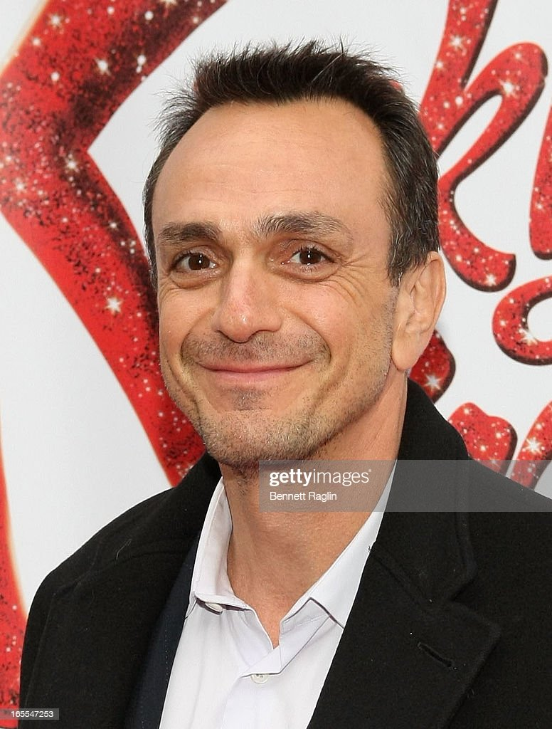 <a gi-track='captionPersonalityLinkClicked' href=/galleries/search?phrase=Hank+Azaria&family=editorial&specificpeople=204150 ng-click='$event.stopPropagation()'>Hank Azaria</a> attends the Media Opening for Kinky Boots on Broadway, 'KinkyBway', at the Al Hirschfeld Theatre on April 4, 2013 in New York City.