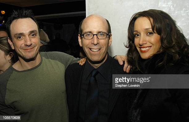 Hank Azaria Chairman and CEO of Showtime Matt Blank and Jennifer Beals