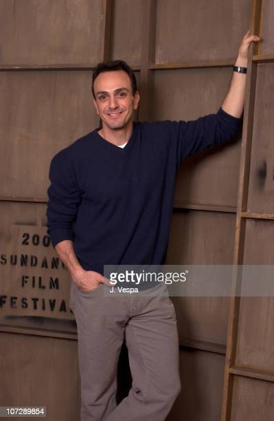 Hank Azaria during 2004 Sundance Film Festival 'Nobody's Perfect' Portraits at HP Portrait Studio in Park City Utah United States