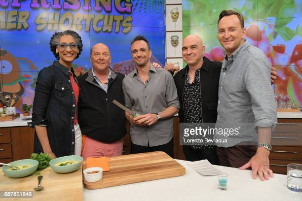 THE CHEW Hank Azaria is the guest Wednesday May 24 2017 on ABC's 'The Chew' 'The Chew' airs MONDAY FRIDAY on the ABC Television Network KELLY