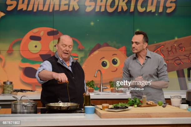 THE CHEW Hank Azaria is the guest Wednesday May 24 2017 on ABC's 'The Chew' 'The Chew' airs MONDAY FRIDAY on the ABC Television Network AZARIA