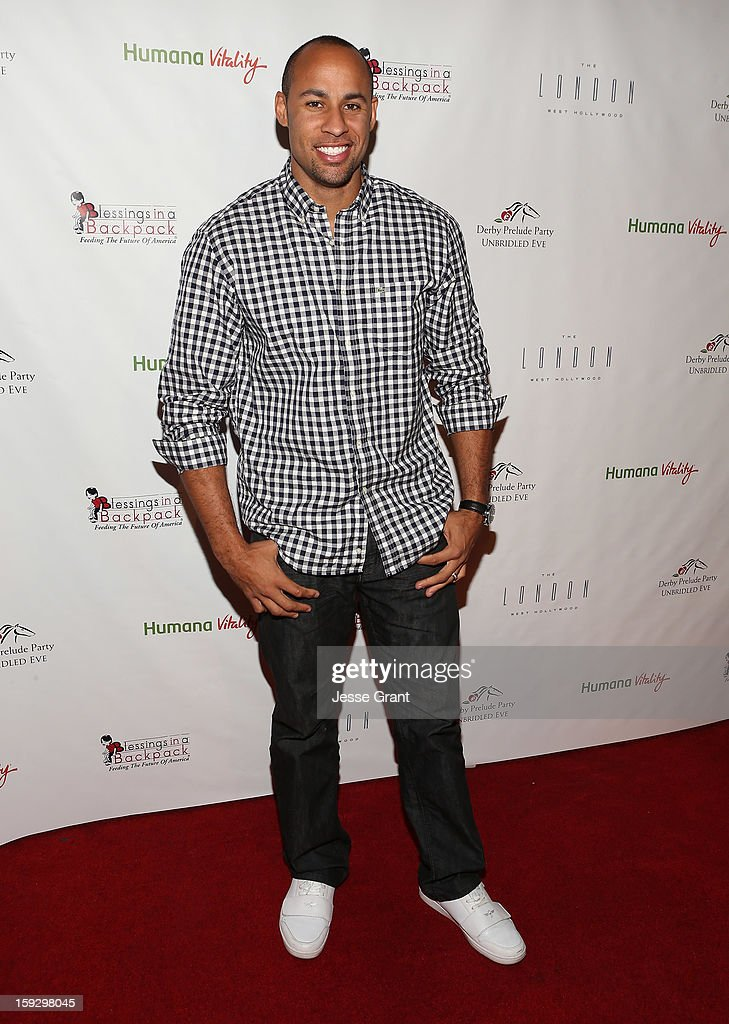 Hank Baskett attends The 4th Annual Unbridled Eve Derby Prelude Party at The London West Hollywood on January 10, 2013 in West Hollywood, California.