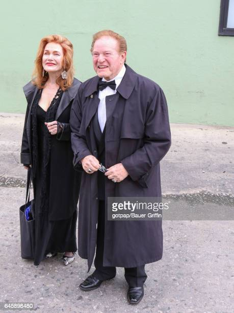 Hank Garrett is seen on February 26 2017 in Los Angeles California