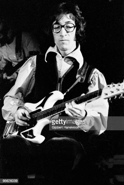 Hank Marvin performs live on stage with The Shadows in Amsterdam Holland in 1971