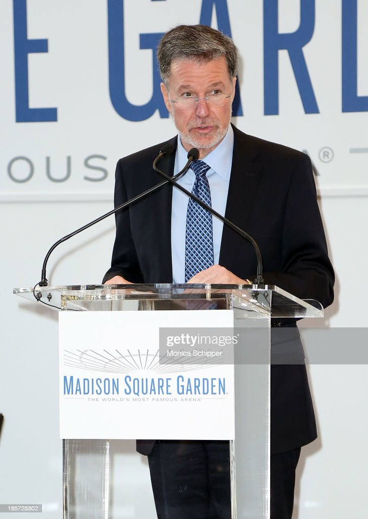 Hank Ratner attends the unveiling of Madison Square Garden on October 24, 2013 in New York City.